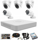 CCTV Package with Hikvision 8CH DVR and 5PCS Camera
