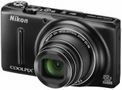 Nikon Coolpix S9500 Wi-Fi Digital Compact Camera