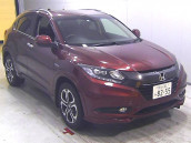 Honda Vezel 2015 Hybrid Wine Color