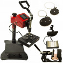 Semi Automatic Flat Heat Press Machine