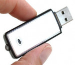 Spy Voice Recorder with 8GB Pen Drive