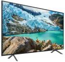 """Samsung RU7100 65"""" Flat 4K UHD Smart TV"""