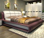 Stylish Artificial Leather 5 x 7' GF6032