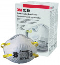 3M 8210 N95 Particulate Respirator Dust Mask