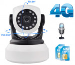 Network Video PT Camera with 4G SIM Network