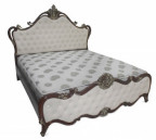 Stylish Chittagong Tick Wood Victorian Bed
