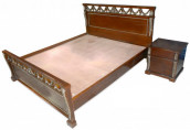 Exclusive Design Wooden Bed AF-016