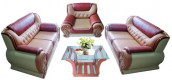 Excellent Leather Sofa Set  SR-54