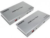 HDMI Extender Over Fiber Maximum 20KM with USB