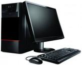 Desktop PC Dual Core 500GB HDD 4GB RAM 17'' Monitor