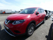 Nissan X Trail 2016 Red Mica Color