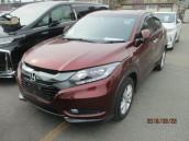 Honda Vezel X 2014 Wine Color