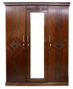 Modern Design 3 Shutter Wooden Almirah MA3-1006