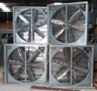 Power Exhaust Shutter Fan