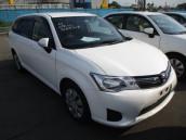 Toyota Axio X NKE165 2014 White Color