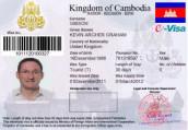 Cambodia E-Visa Processing Service