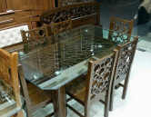 Malaysian Wood Dining Table