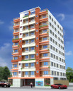 Wahab Harun Tower 1010 Sqft Flat at East Razarbag Dhaka