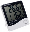 HTC-1 Temperature & Humidity Meter with Clock