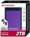Transcend J25H3B 2TB External Hard Disk Drive
