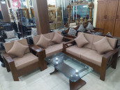 Sofa Set with 5 Pillow