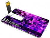 Ultra Slim 64GB USB 3.0 Card Pen Drive