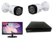 CCTV Package Dahua 2-Pcs HD Camera with 17