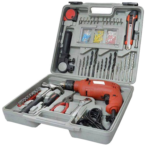 All-in-One Tool Kit with Drill Machine