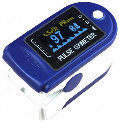 Fingertip CMS-50D Audible Pulse Oximeter