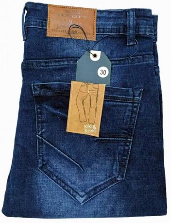 Denim Designed Long Stylish Jeans Pant