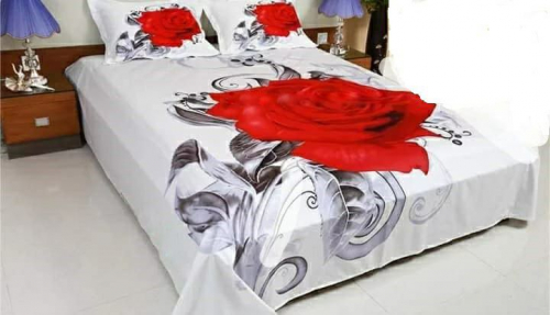 Deshi Cotton Panel Bedsheet
