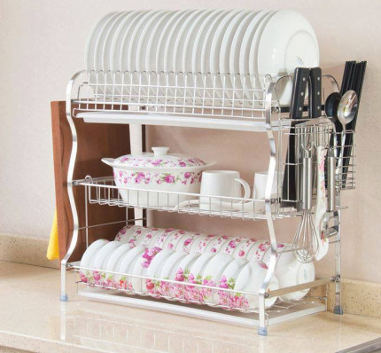 3 Layer Dish Rack
