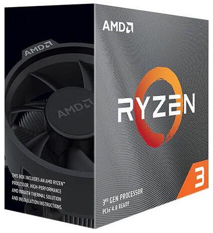 AMD Ryzen 3 3100 Desktop Processor with Wraith Stealth