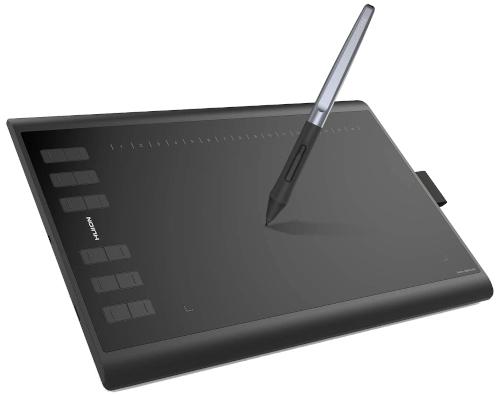 Huion Inspiroy H1060P Digital Art Drawing Tablet