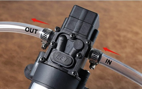 Bayite BYT-7A108 12V Self Priming Diaphragm Water Pump