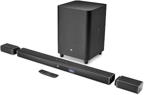 JBL Bar 5.1 Soundbar with True Wireless Surround Speakers