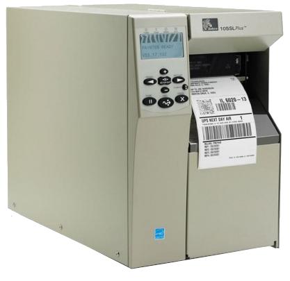 Zebra 105SL Plus 300 DPI Barcode Printer