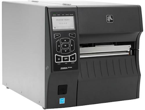 Zebra ZT420 Industrial Direct Thermal Barcode Label Printer