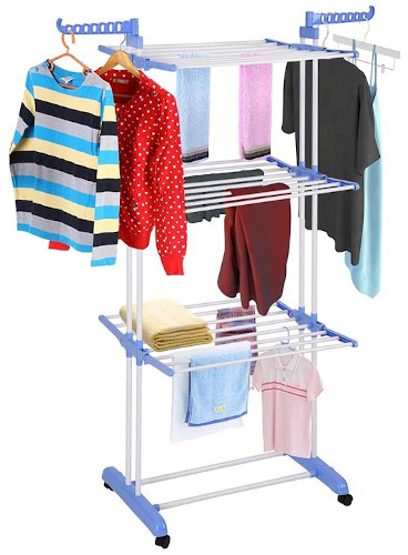Three Layer Cloth Rack
