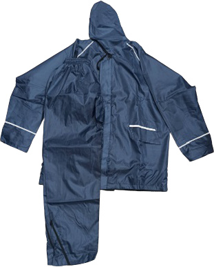 3-Part Raincoat with Trouser