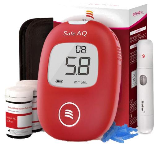 Sinocare Safe AQ Diabetes Test Machine