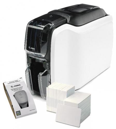 Zebra ZC100 Industrial ID Card Printer