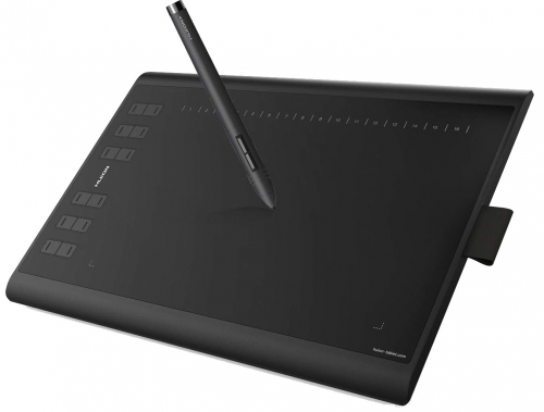 Huion New 1060 Plus 5080 LPI Graphic Drawing Pen Tablet