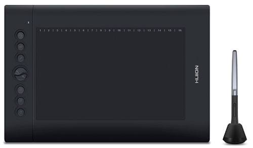 Huion Inspiroy H610PRO V2 Android Sketch Tablet