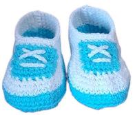 Baby Shoe Blue