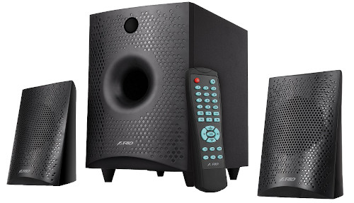 F&D F210X Heavy Bass Wooden Cabinet 2.1 Bluetooth Speaker