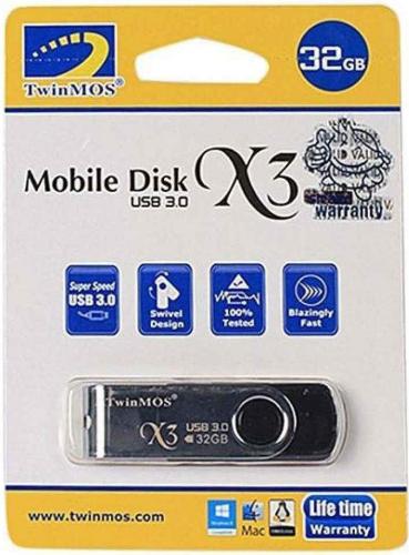 Twinmos X3 32GB Ultra Speed Pendrive