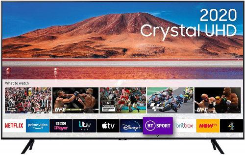 "Samsung TU7200 55"" 4K Crystal UHD LED TV"