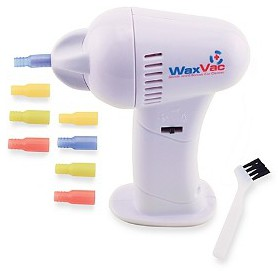 WaxVac Gentle and Effective Ear Cleaner with Safety Guard