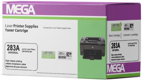 Mega 283A 1500 Page Yield Laser Printer Toner Cartridge